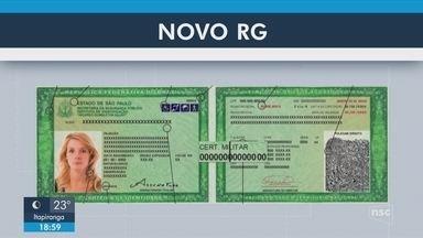 Novo modelo de identidade deve ser emitido em Santa Catarina em outubro - Novo modelo de identidade deve ser emitido em Santa Catarina em outubro