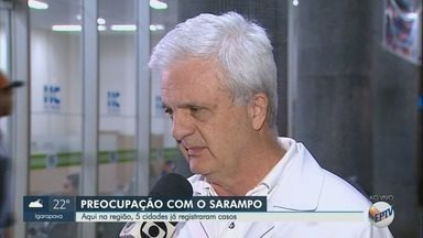 Cinco cidades da região de Ribeirão Preto confirmam casos de sarampo - Governo de São Paulo confirmou primeira morte no estado.