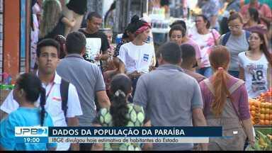 JPB2JP: IBGE divulgou hoje estimativa de habitantes do Estado da Paraíba - Dados também dos municípios e seus moradores.