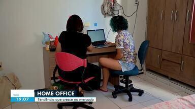 As vantagens e desafios de trabalhar em casa - Confira mais notícias em g1.globo.com/ce