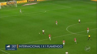 Flamengo empata no Beira-Rio e elimina Internacional pela Copa Libertadores - Após 35 anos, Flamengo volta às semifinais da Copa Libertadores da América e vai encarar o Grêmio.