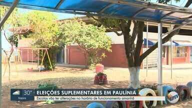 Eleições suplementares em Paulínia alteram funcionamento de escolas estaduais e municipais - Escolas que servem como zonas eleitorais terão funcionamento afetado na cidade.