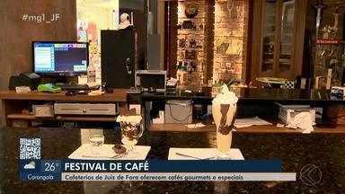 Cafeterias em Juiz de Fora realizam festival para apresentar bebidas especiais - Até sexta-feira (30), o evento quer divulgar o produto e ajudar a desenvolver uma cadeia local para atrair negócios, consumidores para a cidade.