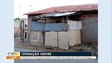 Em Iguatu prisões por tráfico de drogas e caso de jovem assassinado é desvendado - Saiba mais em g1.com.br/ce