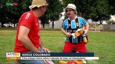 Tchó e Beppi falam sobre a derrota do Inter na Libertadores - Tchó e Beppi falam sobre a derrota do Inter na Libertadores