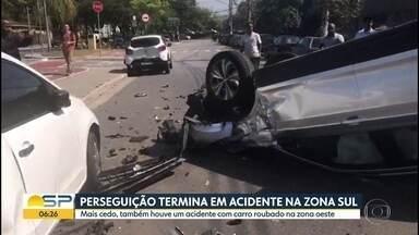 Menores são presos após perseguição policial - Ocorrência aconteceu na Zona Sul de São Paulo