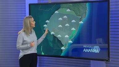 Chuva atinge a maior parte do RS neste sábado (31) - Assista ao vídeo.