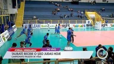 Taubaté encara o São Judas pelo Campeonato Paulista de Vôlei - Veja as informações no link.