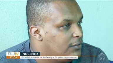 Após mais de quatro meses, Justiça solta homem preso injustamente - Douglas é acusado de envolvimento em um latrocínio, que é o roubo seguido de morte, no dia 30 de março de 2015.
