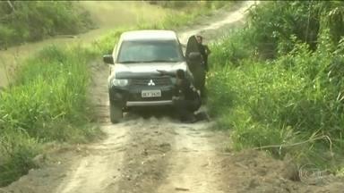 Fiscais do Ibama e policiais federais são alvos de tiros ao combater fogo e garimpo no PA - Agentes ambientais intensificaram a fiscalização contra o desmatamento e foram surpreendidos por tiros de garimpeiros.