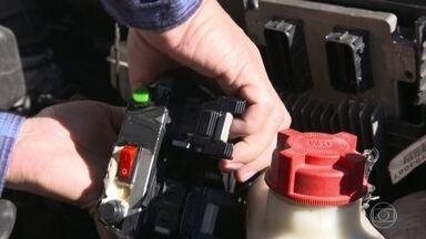 Recursos de segurança evitam que o carro seja furtado - Recursos de segurança evitam que o carro seja furtado.