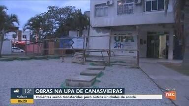 Pacientes da UPA de Canasvieiras serão transferidos para atendimento em outras unidades - Pacientes da UPA de Canasvieiras serão transferidos para atendimento em outras unidades