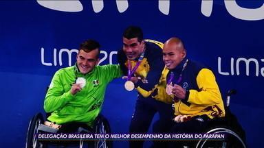 Brasil termina Parapan com melhor desempenho na história - Brasil termina Parapan com melhor desempenho na história