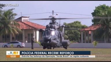 """Exército faz balanço da Operação """"Verde Brasil"""" na região sudoeste - Exército faz balanço da Operação """"Verde Brasil"""" na região sudoeste"""