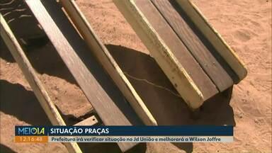Prefeitura responde questionamentos sobre os problemas em praças de Cascavel - O Meio Dia Paraná mostrou esse problema na sexta-feira passada, 30/08.