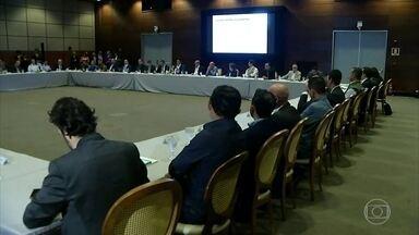 Cinco ministros e governadores da Amazônia se reúnem para discutir combate ao desmatamento - O encontro foi em Belém e também discutiu o desenvolvimento sustentável da região.