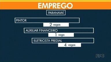 Paranavaí começa a semana com 28 vagas de emprego - Já em Umuarama são mais de 100 oportunidades de trabalho.