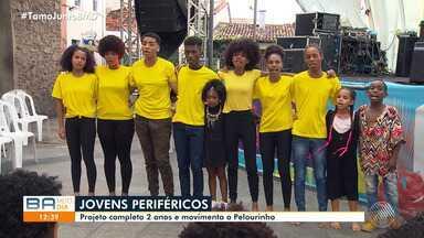 Projeto Jovens Periféricos agita o Pelourinho com oficinas e palestras - Programação teve entrada franca e atraiu dezenas de pessoas.