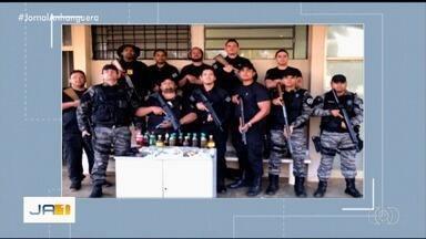 Homem tenta levar celulares, drogas e bebidas alcoólicas para o presídio de Rio Verde - Confusão acabou com troca de tiros.