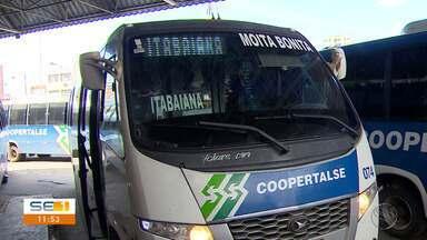 Passageiros falam sobre aumento da tarifa dos ônibus inter-municipais - Passageiros falam sobre aumento da tarifa dos ônibus inter-municipais.