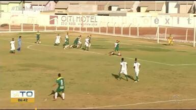 Goleiro sofre gol bizarro em partida do Tocantinense Sub-19 - Goleiro sofre gol bizarro em partida do Tocantinense Sub-19