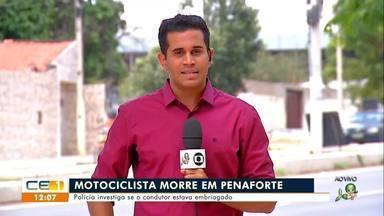 Motociclista morre em Penaforte - Confira mais notícias em g1.globo.com/ce