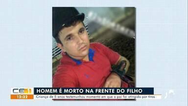 Homem é morto na frente do filho em Assaré - Confira mais notícias em g1.globo.com/ce