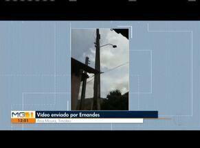 VC no MG: Morador de Timóteo reclama de falta de iluminação - Morador de Santana do Paraíso também reclamou de iluminação.