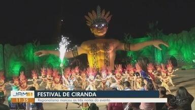Festival de Cirandas movimenta economia de Manacapuru - Regionalismo marca as três noites do evento.