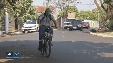 Bicicletas sem placas são apreendidas em São Joaquim da Barra, SP - Fiscalização apertou o cerco contra ciclistas infratores.