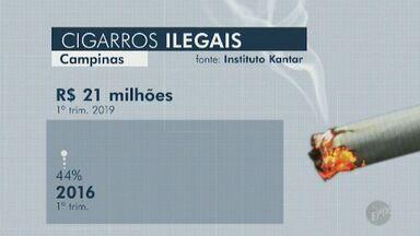 58% dos cigarros que circulam em Campinas são clandestinos, aponta Kantar - Segundo pesquisa do instituto, parte dos produtos adquiridos no município é contrabandeada do Paraguai.