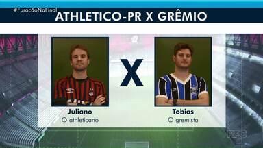 RPC transmite semifinal da Copa do Brasil nesta quarta-feira - Conheça a história do Juliano e do Tobias. Eles amigos e rivais ao mesmo tempo e vão juntos à Curitiba torcer pelos seus times.