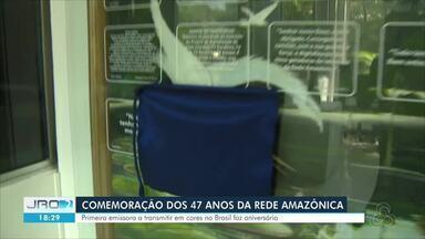 Rede Amazônica completa 47 anos e mensagem é apresentada em comemoração - Setembro é o mês de aniversário da Rede Amazônica