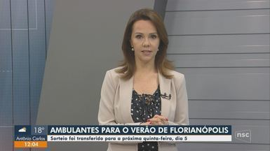 Sorteio para vagas do comércio ambulante em Florianópolis é transferido para quinta (5) - Sorteio para vagas do comércio ambulante em Florianópolis é transferido para quinta (5)