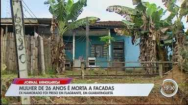 Mulher é morta a facadas pelo ex em Guará - Ele foi golpeada com facão.