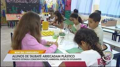19 mil alunos de Taubaté arrecadam plástico em campanha de conscientização ambiental - Projeto estimula conscientização ambiental entre os estudantes de escolas municipais.