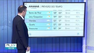 Tempo segue instável no Sul do Rio nesta quinta-feira - Confira a previsão do tempo e os termômetros em cinco cidades.