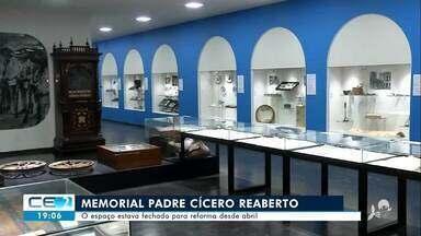 Memorial Padre Cícero reaberto em Juazeiro do Norte - Confira mais notícias em g1.globo.com/ce