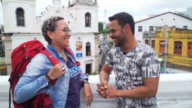 Pablo Vasconcelos conhece Lika Souza, letróloga que faz mochilão pelo mundo - Pablo Vasconcelos conhece Lika Souza, letróloga que faz mochilão pelo mundo