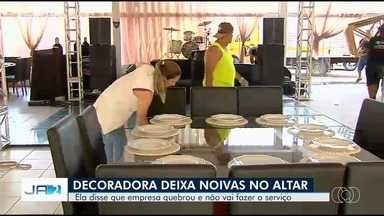 Voluntários se unem para decorar festa de jovem que levou 'bolo' de decoradora, em Goiânia - Em mensagem, profissional diz que não tem dinheiro para honrar os contratos já estabelecidos.