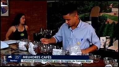 Concurso sobre a qualidade dos cafés será realizado em Campos Altos - A região no Alto Paranaíba é conhecida pela qualidade dos cafés tipo exportação. Os campeões serão conhecidos no dia 27 de setembro.