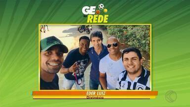 GE na Rede tem foto com craques e bola na rede - Juiz de Fora, Matias Barbosa, Barbacena, Piedade do Rio Grande, Divinésia e Viçosa aparecem no quadro