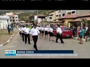 Sete de Setembro atrai milhares de pessoas - Desfile foi realizado em Caratinga, Coronel Fabriciano, Santana do Paraíso e Ipatinga.