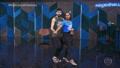 Confira o ensaio de Dandara Mariana com Daniel Norton - Daniel elogia Dandara