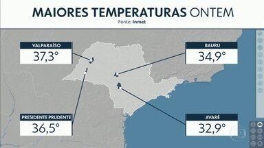 Veja a previsão do tempo para esta segunda-feira, 09/09/2019. - Veja a previsão do tempo para esta segunda-feira, 09/09/2019.
