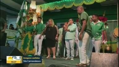 Escolha do samba enredo da Império Serrano termina em confusão - O presidente da Império Serrano abandonou a quadra após o anúncio do samba vencedor para o carnaval 2020.