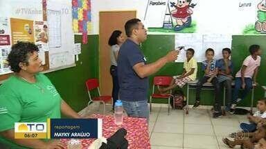 Escola leva pais de estudantes à sala de aula para debate sobre saúde e inclusão - Escola leva pais de estudantes à sala de aula para debate sobre saúde e inclusão