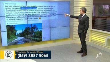 Veja a participação do telespectador nesta segunda-feira (9) - Saiba mais em g1.com.br/ce