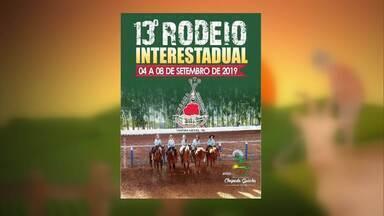 Confira a agenda de eventos do campo - Neste domingo (08), acontece o encerramento do 13º Rodeio Interestadual de Chapada Gaúcha.