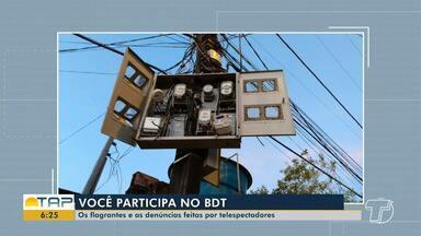 Confira a participação dos telespectadores no Bom Dia Tapajós - Envie suas fotos e vídeos para o whataspp da Tv Tapajós (93) 99122-9460.